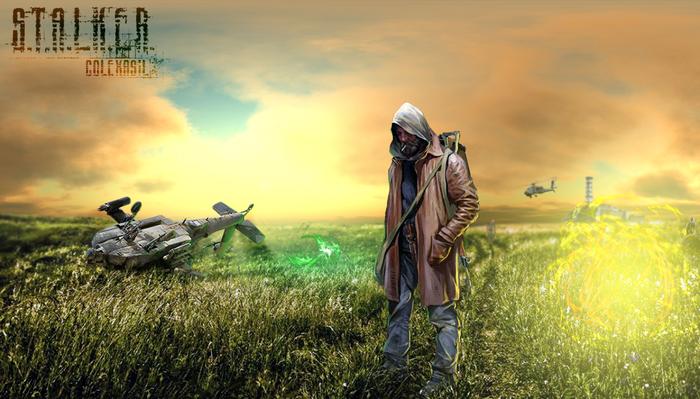 Путник Сталкер, 2d, Game art, Вояджер, Nomad