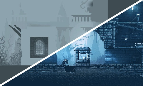 Как мы строим картинку в Inmost Inmost, Pixel art, Gamedev, Screenshotsaturday, Indie, Гифка