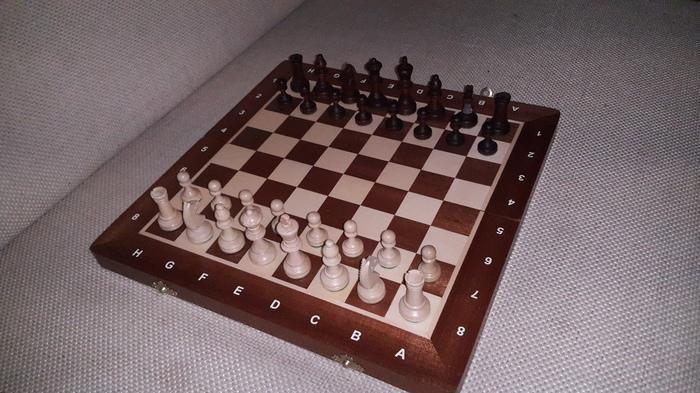 Деревянные шахматы на магнитах Шахматы, Крафт, Своими руками, Длиннопост, Стаунтон, Фотография