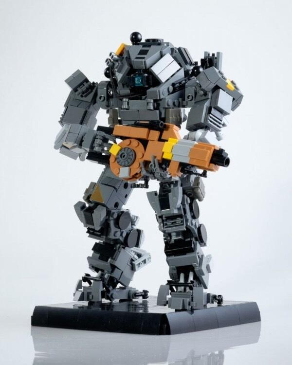 Крутая подборка крутых титанов из лего. Titanfall, Titanfall 2, Lego, Меха, Робот, Компьютерные игры, Длиннопост