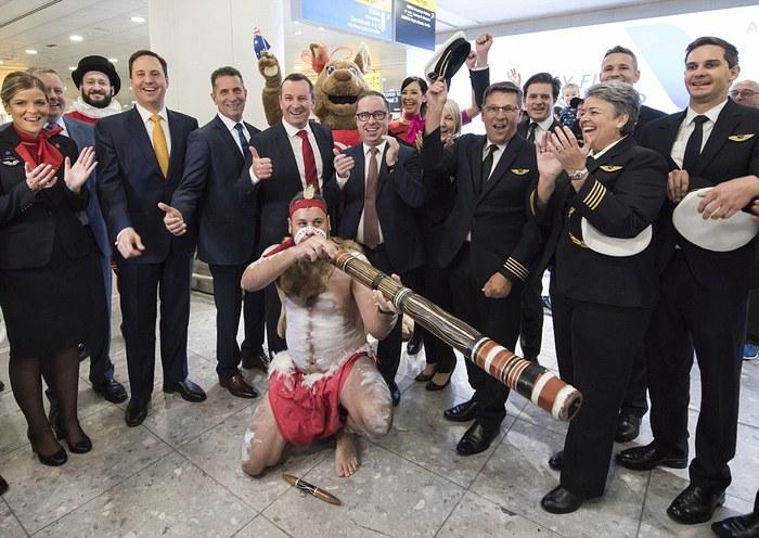 Из Австралии в Великобританию за 17 часов без пересадки, как это было Перелет, Великобритания, Австралия, Qantas Boeing 787-9, Длиннопост