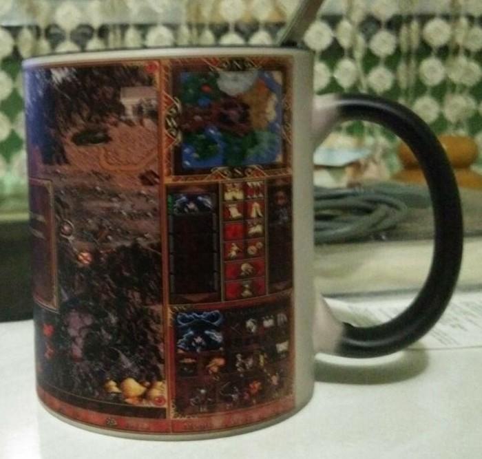 Астрологи объявили неделю чая Астрологи объявили, Герои меча и магии, HOMM III, Кружка, Длиннопост