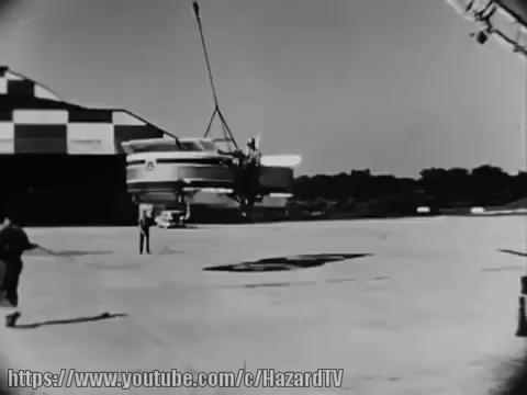 Летающие джипы Chrysler VZ-6, Curtiss-Wright VZ-7, Piasecki VZ-8 (ЧАСТЬ 1/2) Летающие джипы, Аэроджипы, Chrysler VZ-6, Curtiss-Wright VZ-7, Видео, Длиннопост, Гифка