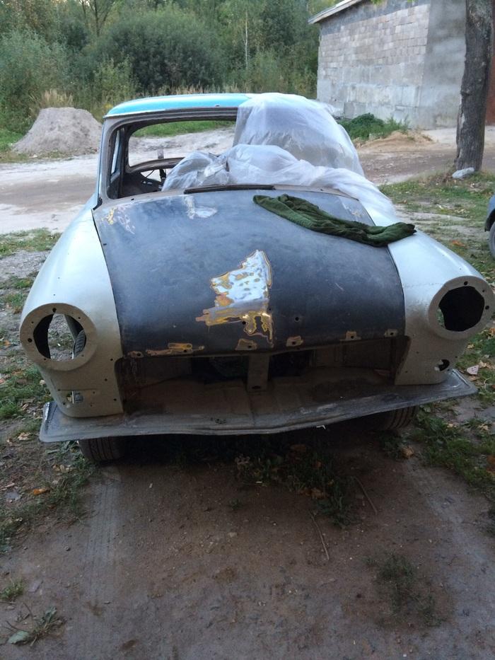 Реставрация автомобиля Волга 21