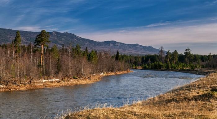 Река Юрюзань и хребет Зигальга