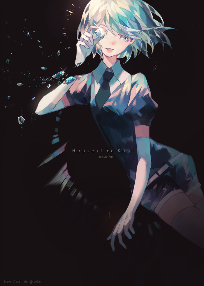 Diamond Houseki no kuni, Anime Art, Аниме, Арт