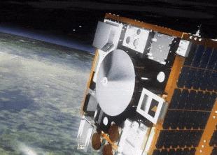 SpaceX отправила на МКС спутник для охоты за космическим мусором Новости, Космос, Космонавтика, Космический мусор, SpaceX, Илон Маск, Гифка