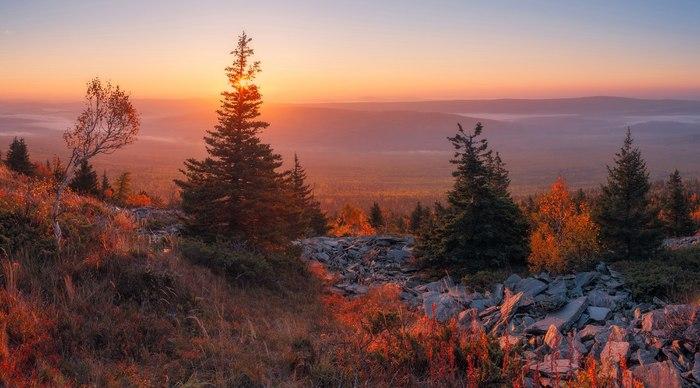 Южный Урал Южный Урал, Россия, Фотография, Природа, Туман, Туризм, Пейзаж, Длиннопост