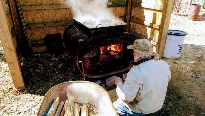 Пришла весна! В Мичигане начали доить клёны и варить кленовый сироп Америка, Сельская Америка, Американская ферма, Кленовый сироп, Мичиган, Одноэтажная Америка, Длиннопост