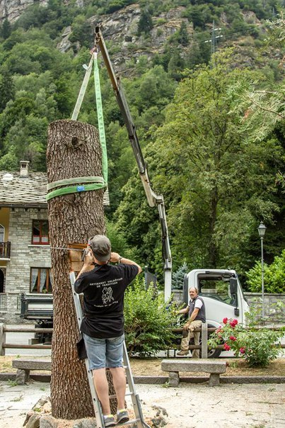 Скульптура из дерева дерево, скульптура, работа с деревом, длиннопост, процесс, фотография