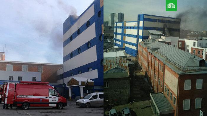 В московском ТЦ «Персей для детей» вспыхнул пожар Пожар, Тц, Москва, Персей для детей, Беда