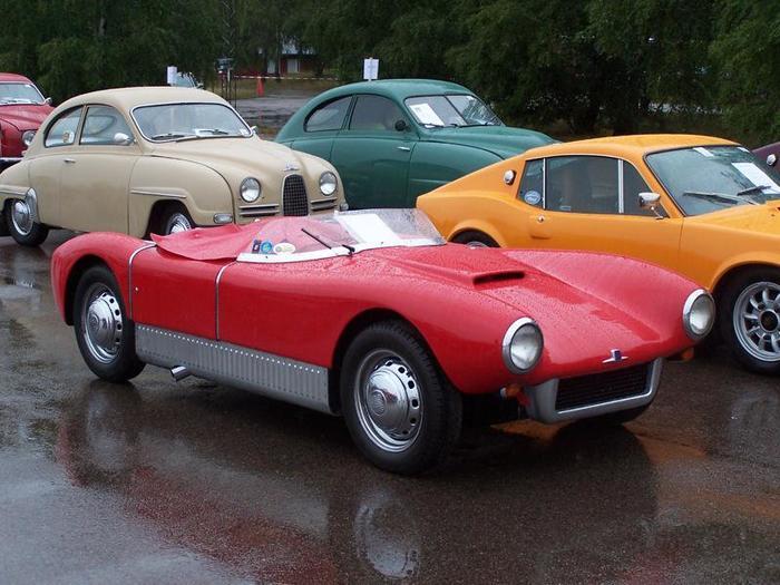 Автомобили #66. Saab 94 Sonett Авто, Saab, Спорткар, Ретроавтомобиль, Швеция, Машина, Длиннопост