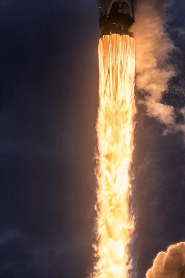 Запуск Falcon 9 CRS-14