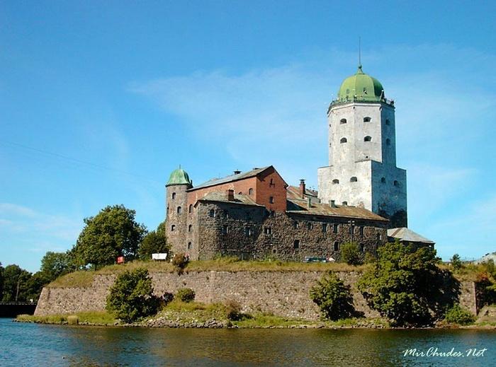 4 самых старинных замка России История, Замки, Отдых, Туризм, Длиннопост, Фотография