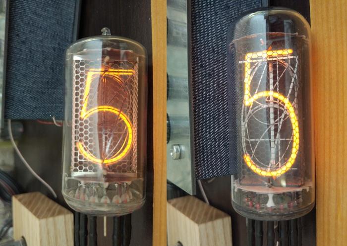 Z5660M vs ИН-18 Никси, Ламповые часы, Длиннопост