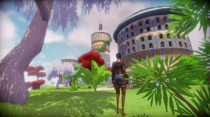 Worlds Adrift - мир, созданный игроками для игроков. Worlds Adrift, Редактор карт, Mmorpg, Игры, Видео
