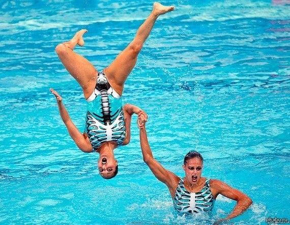 5 мифов о синхронном плавании Моё, Синхронное плавание, Спорт, Мифы, Здоровье, Длиннопост