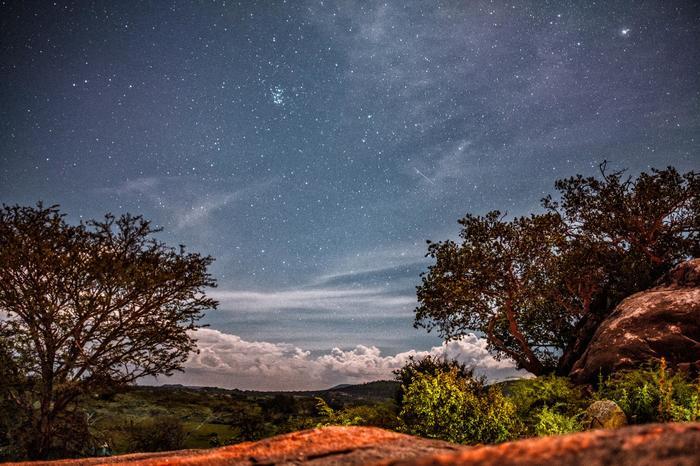 Звездное небо в Танзании