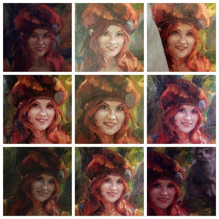 """Портрет девушки в образе Присциллы из """"Ведьмака"""". Портрет, Ведьмак, Присцилла, Rna1ssnc, Девушки, Длиннопост, Картина, Масло, Alina Gingertail"""