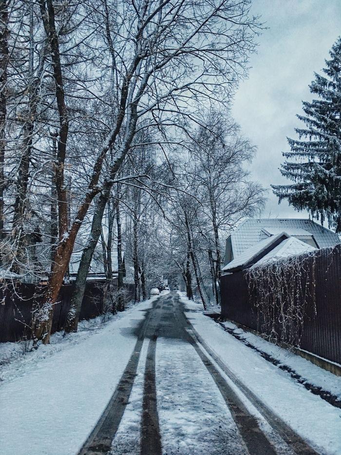 Когда встал в 5 утра и... Снег, Апрель, Фотография, Утро, Весна, Природа