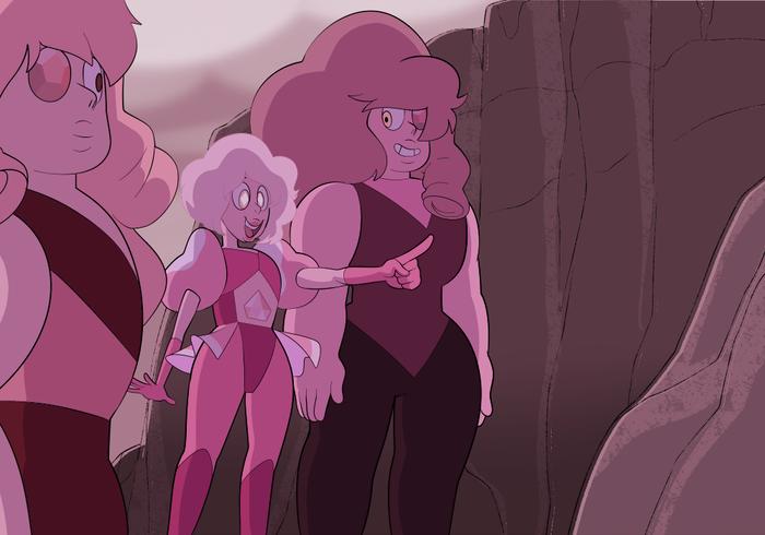 """""""Хочу только маленького, они дольше живут"""" Steven Universe, Pink diamond"""