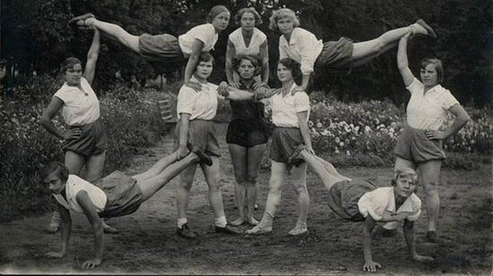 Черно-белые лики советского спорта (2 часть)