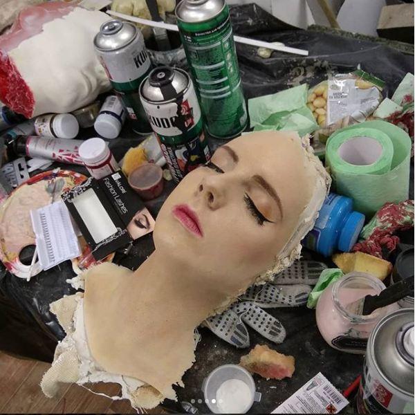 """""""Сестра-близнец"""" из полиуретана ) Муляж, Реалистичный муляж, Слепок лица, FX, Спецэффекты, Бутафория, Школа Бутафора, Длиннопост"""