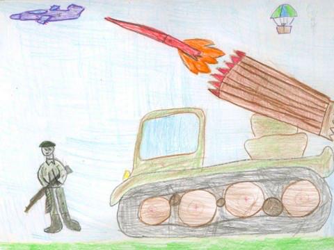 Фашист Фашисты, Детский сад, Рисунок, Катюша, Обида, Длиннопост