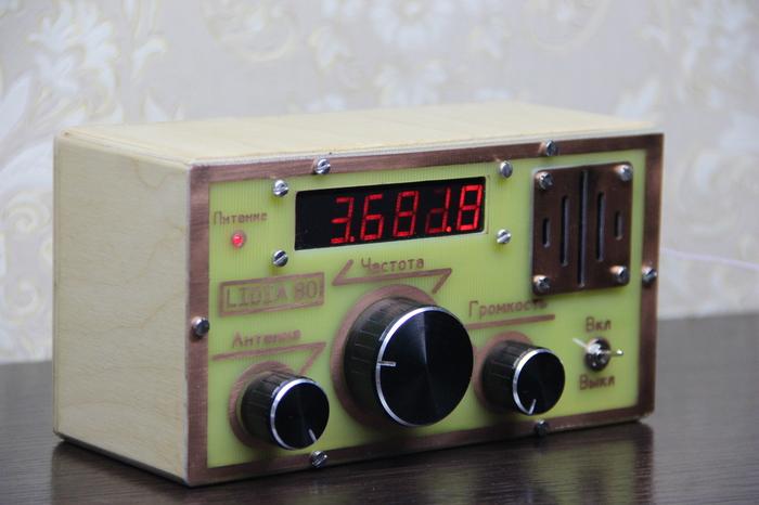 Радиоприемник Лидия-80 (Lidia-80) Радиоприемник, Своими руками, Сделай сам, Короткие волны, Видео, Длиннопост
