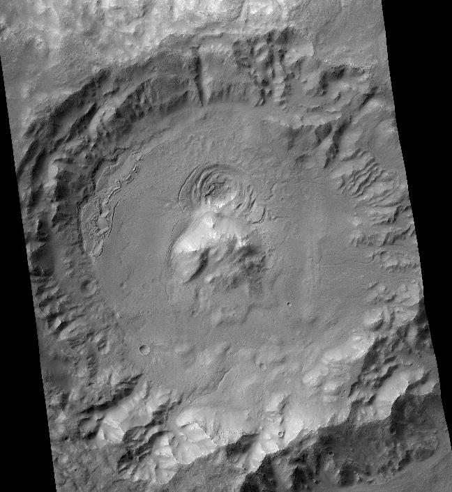 Необычные структуры в марсианском кратере Кольцо, Альберт Эйнштейн, Телескоп Хаббл, Фотография, Линзы, Длиннопост