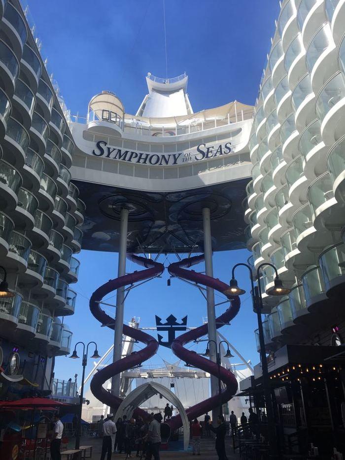 Как я отдохнул на самом большом лайнере в мире Симфония морей, Symphony of the Seas, Круиз, Круизные лайнеры, Море, Длиннопост