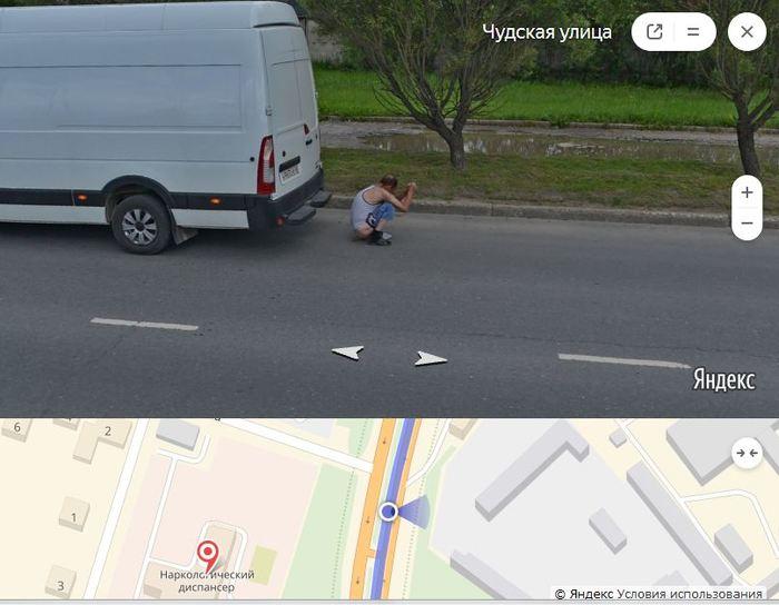 Вас заметили: что зафиксировал регистратор Яндекс.Карты в Пскове Яндекс карты, Псков, Срет