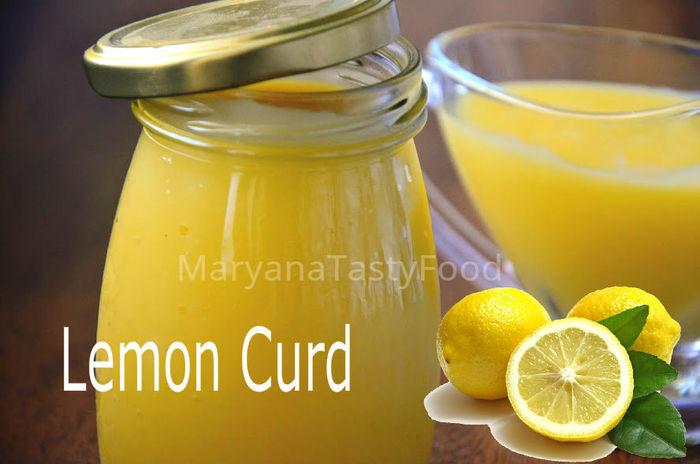 Лимонный Курд (Lemon Curd) Заварной Лимонный крем