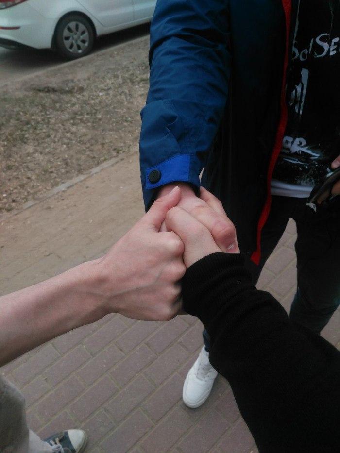 Тройное рукопожатие Рукопожатие, Друзья