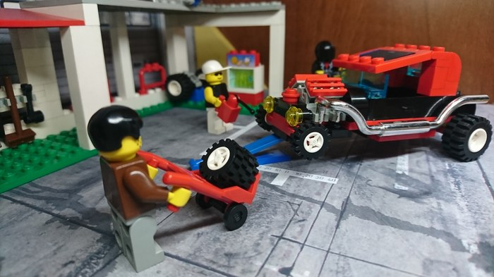 Lego 6561 Hot Rod Garage Lego, Детство, Конструктор, Ностальгия, Длиннопост