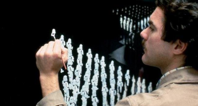 Фото со съемок «Звездные войны. Эпизод VI: Возвращение джедая»: Star wars, Съемки, Фильмы, Джордж Лукас, Интересное, Подборка, Длиннопост