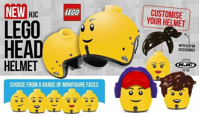 Если бы Лего делали шлемы Lego, Шлем, Хруст, Длиннопост