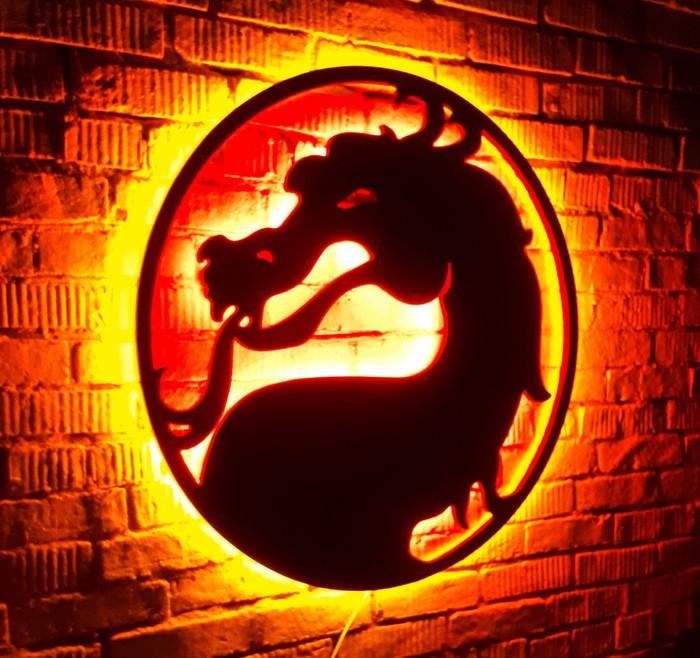 Как я делал ночник mortal kombat ночник, Mortal Kombat X, длиннопост
