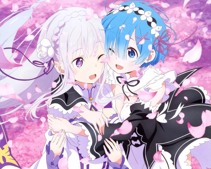 Rem and Emilia [re:zero]