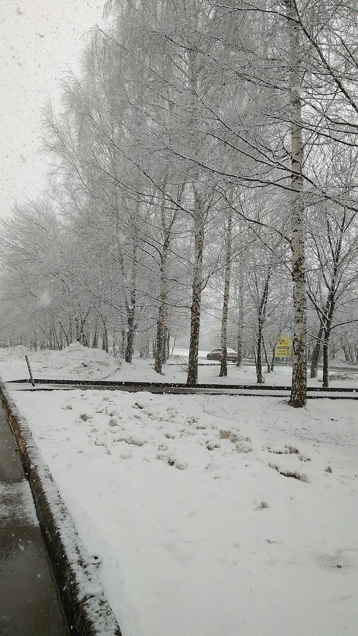 """Замечательная """"весна"""". Весна, Снег"""