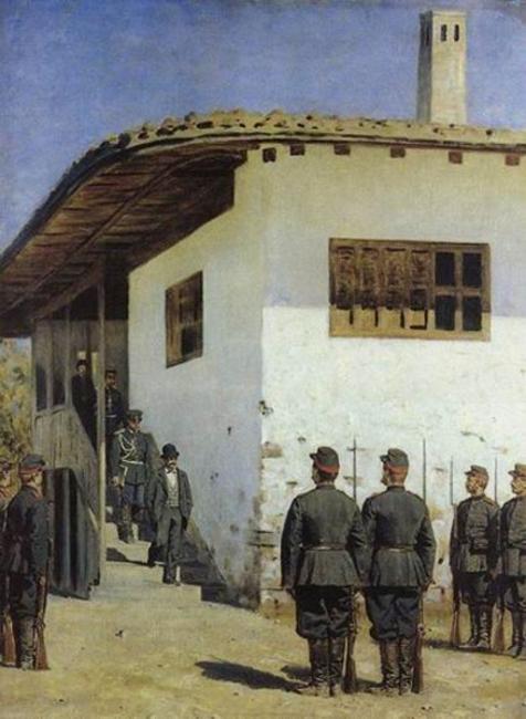 Турецкий гамбит художника Верещагина