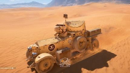 Безумный попутчик Гифка, Баг, Машина, Попутчики, Battlefield 1, Прикол