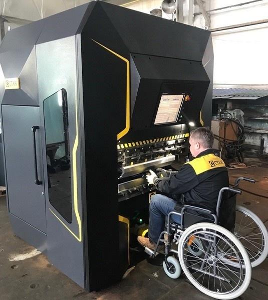 Компания СТАН разработала металлообрабатывающий станок для людей с ограниченными возможностями Станкостроение, СТАН