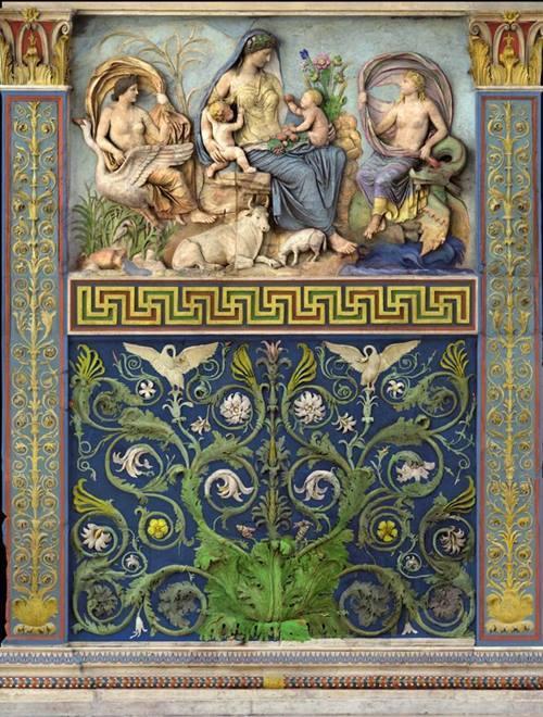 Ara Pacis Augustae Античность, Римская империя, Мрамор, Барельеф, Длиннопост