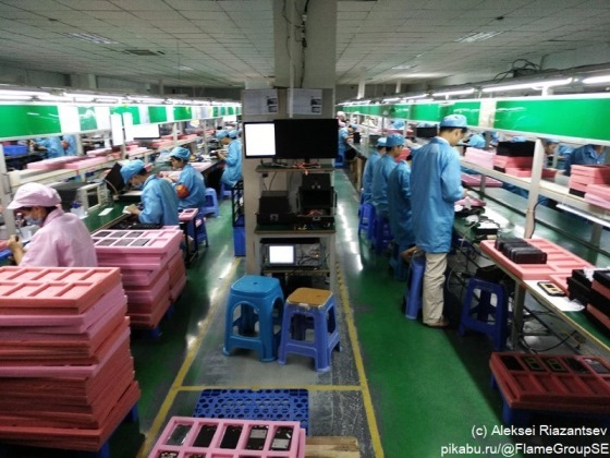 Как делают смартфоны в Китае