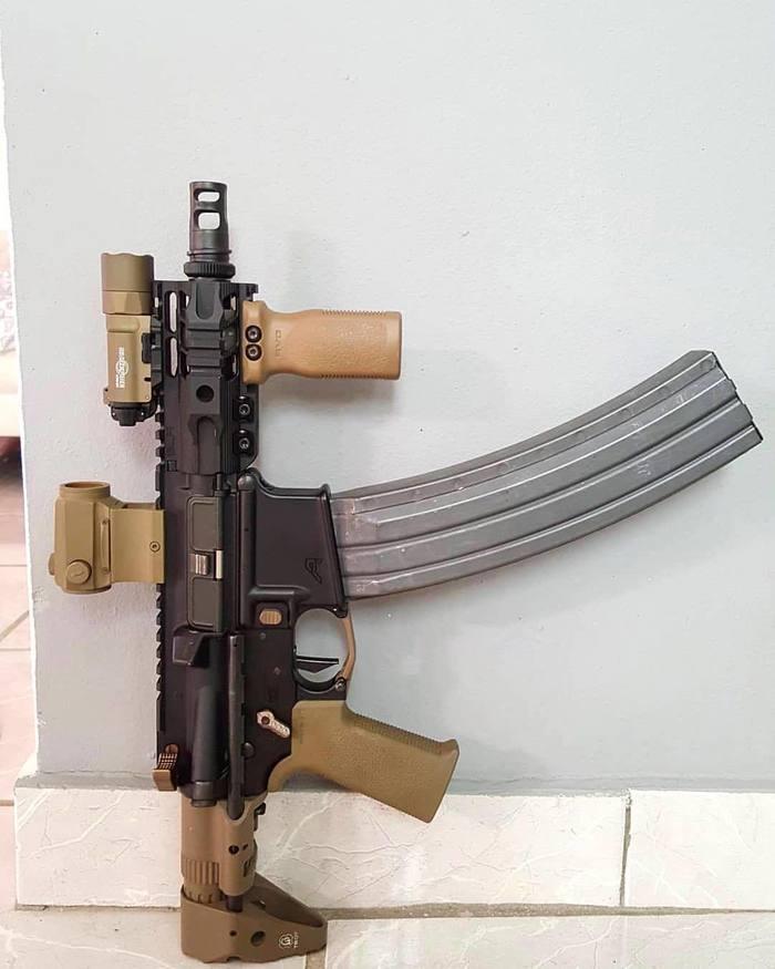 Немного оружейного Оружие, Автомат, Танки, Мохнатый шмель, Длиннопост