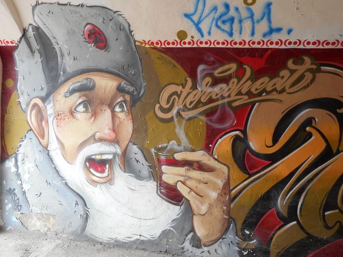 Стрит-арт Стрит-Арт, Томск, Граффити