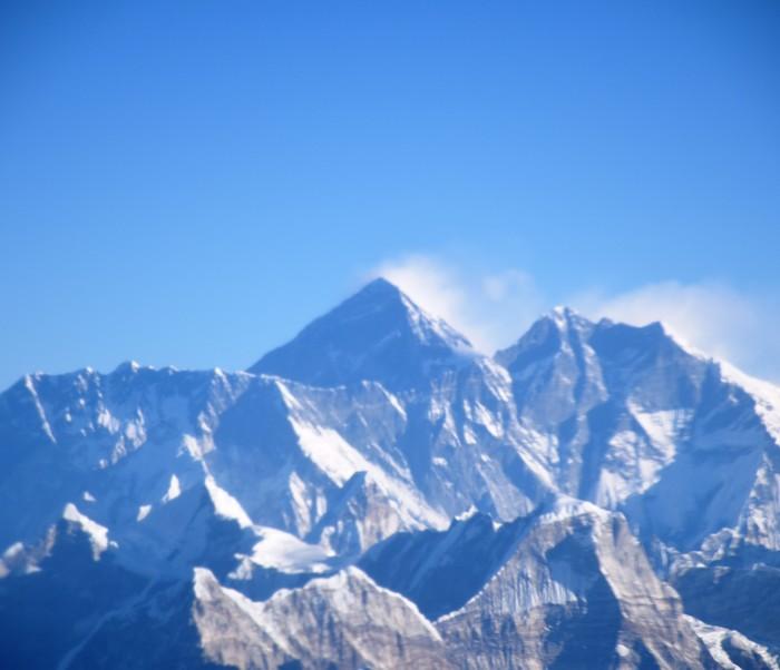 Эверест из самолета Непал, Эверест