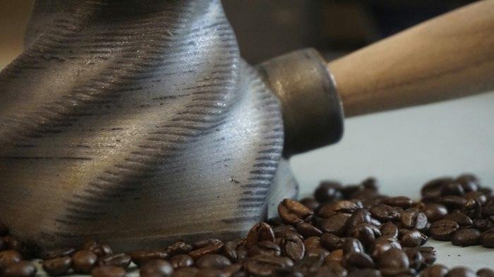3Д печать керамической турки. Турка, 3d печать, Керамика, Кофе, Джезва, Глина, Дизайн, Бариста, Длиннопост