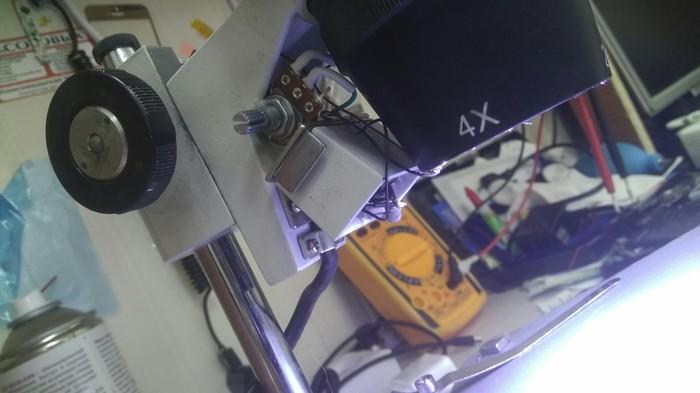 О микроскопе и доработке. Микроскоп, Инструменты, Ремонт электроники, Сообщество ремонтеров, Лига ремонтеров, Самоделки, Длиннопост